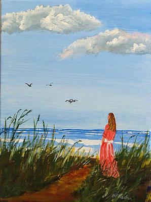 Painting - Waiting For The Boats by Heidi Patricio-Nadon