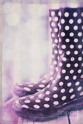 Polkadots Photograph - Waiting For The Rain by Priska Wettstein
