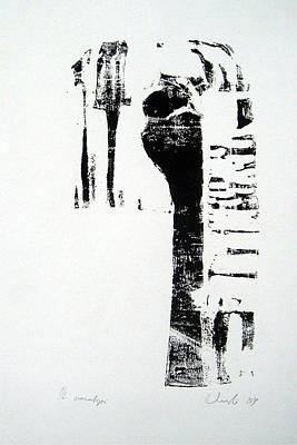 waiting III Art Print by Nesli Sisli
