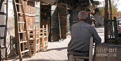 Photograph - Waiting In Damascus by Issam Hajjar