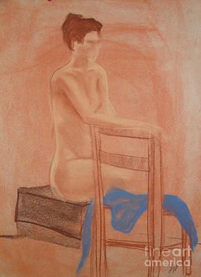 Still Life Drawings - Waiting Naturally by Lj Lambert