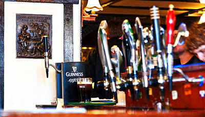 Photograph - Waiting On My Guinness by Edward Peterson