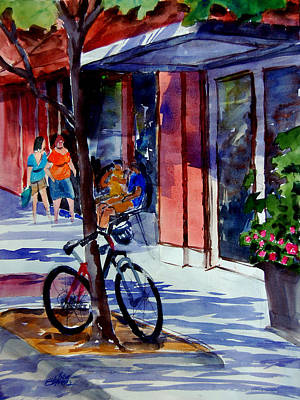 Waiting Print by Ron Stephens