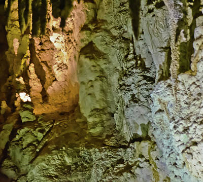 Photograph - Waitomo Cave Detail-2 by Harry Strharsky