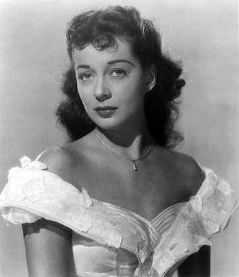 Fid Photograph - Wake Of The Red Witch, Gail Russell by Everett