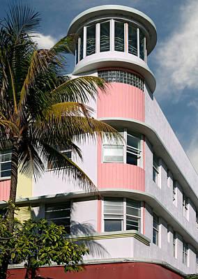 Photograph - Waldorf Towers Hotel 2. Miami. Fl. Usa by Juan Carlos Ferro Duque