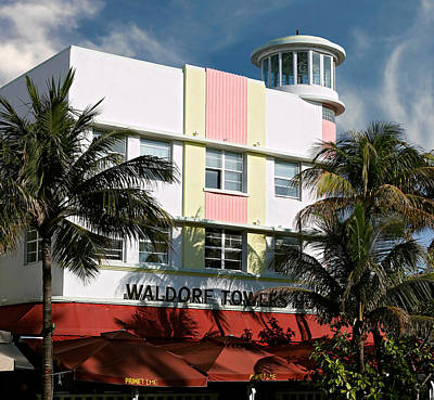 Photograph - Waldorf Towers Hotel. Miami. Fl. Usa by Juan Carlos Ferro Duque