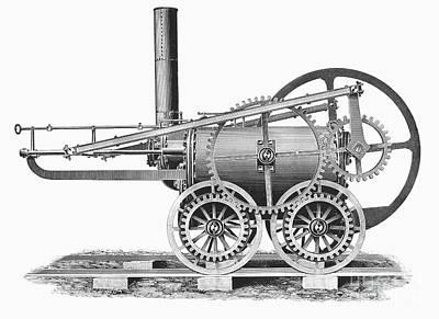 Wales: Locomotive, 1804 Art Print