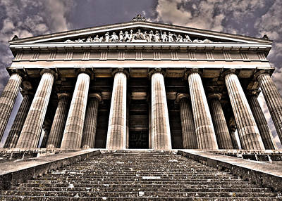 Photograph - Walhalla ... by Juergen Weiss