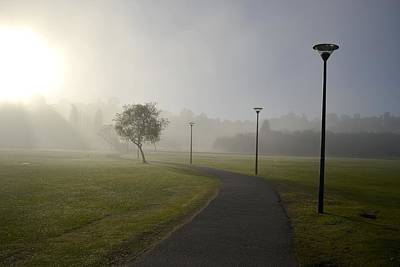 Y120831 Photograph - Walk In Mist by Radamés Manosso
