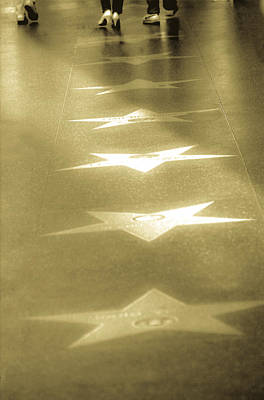 Photograph - Walk Of Fame by Emanuel Tanjala