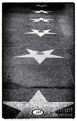 Walk Of Fame Art Print by John Rizzuto