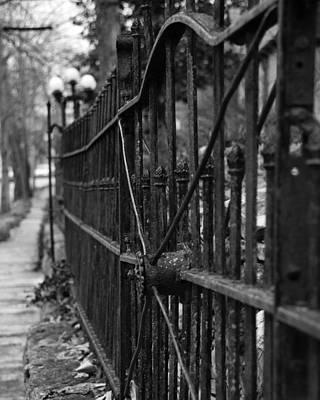 Walk Of Iron Art Print by David Waldo
