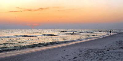 Photograph - Walk On The Beach by Angela Rath