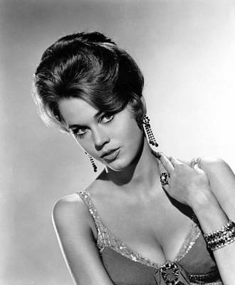 Cocktail Ring Photograph - Walk On The Wild Side, Jane Fonda, 1962 by Everett