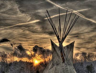 Walk Softly On The Earth Print by William Fields
