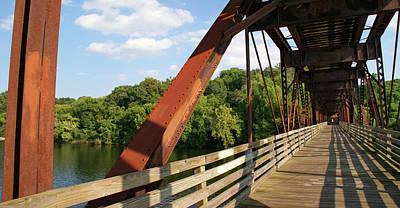 Photograph - Walking Bridge by Paul Mashburn