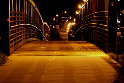 Photograph - Walking Bridge by Trent Mallett