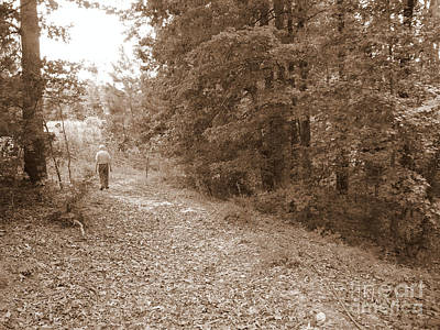 Photograph - Walking Down The Path by Renee Trenholm