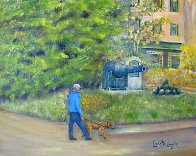 Painting - Walking New Hope by Loretta Luglio