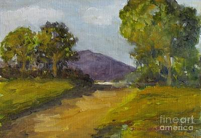 Painting - Walking Path by Jeanie Watson