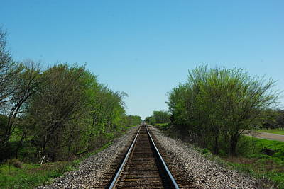 Photograph - Walking The Tracks by Robyn Stacey