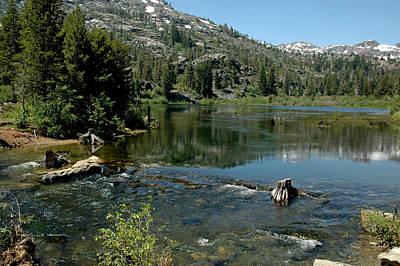 Sierra Photograph - Walking Trails To Lily Lake by LeeAnn McLaneGoetz McLaneGoetzStudioLLCcom
