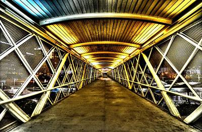 Photograph - Walkway by David Morefield