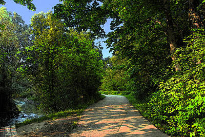 Photograph - Walkway by Dragan Kudjerski