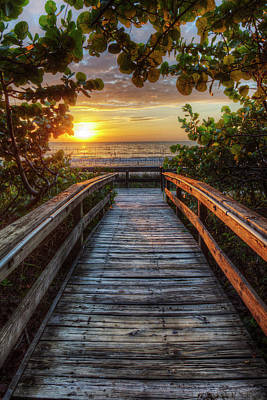 walkway to Paradise Art Print