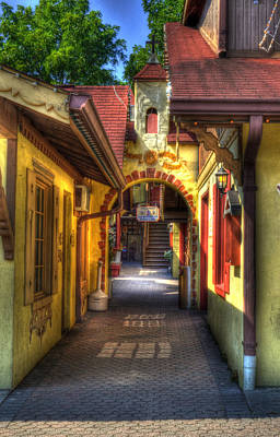 Photograph - Walkway To Shops by Greg and Chrystal Mimbs