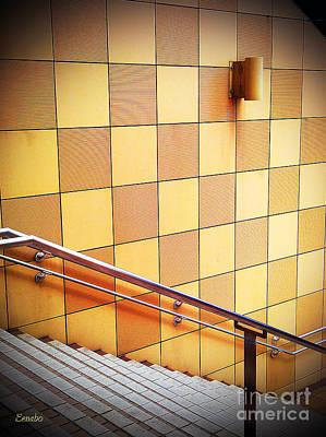 Photograph - Wall Abstract by Eena Bo