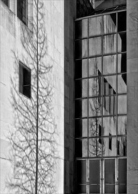 Wall And Windows Metropolitan Museum Nyc Art Print by Robert Ullmann