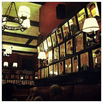 Restaurant Wall Art - Photograph - Wall Of Fame by Natasha Marco