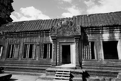 Art Print featuring the photograph Wall Of Temple by Arik S Mintorogo