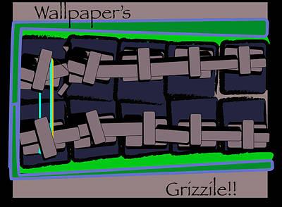 Wall Paper  Original by Brandon Grant