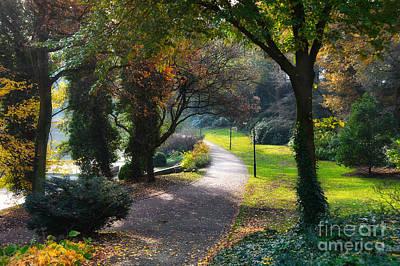 Photograph - Wallanlagen Park by Ari Salmela