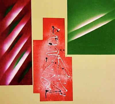 Vanguard Painting - Walnut by Adolfo hector Penas alvarado