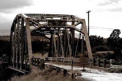 Beastie Boys - Walnut Canyon Bridge - Route 66 - Greeting Card by Mark Valentine
