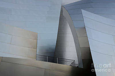 Design For Architects Photograph - Walt Disney Concert Hall 2 by Bob Christopher