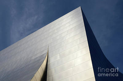 Photograph - Walt Disney Concert Hall 5 by Bob Christopher
