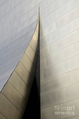 Design For Architects Photograph - Walt Disney Concert Hall 6 by Bob Christopher