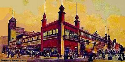 Philadelphia Pa Painting - Wanamaker's Store In Philadelphia Pa In 1907 by Dwight Goss