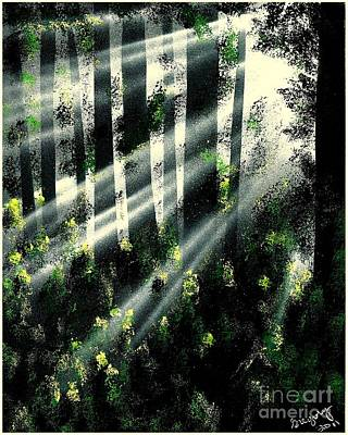 Waning Light Art Print