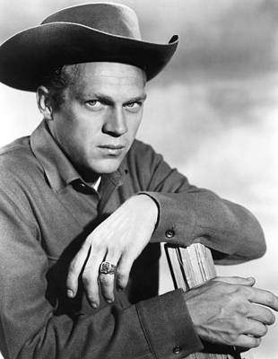 1950s Tv Photograph - Wanted Dead Or Alive, Steve Mcqueen by Everett