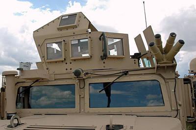 Army Photograph - War Armed Vehicle by LeeAnn McLaneGoetz McLaneGoetzStudioLLCcom