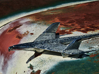 Rusted Cars Digital Art - War Bird by Douglas Pittman