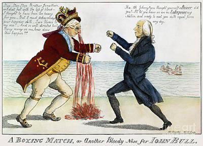War Of 1812: Cartoon, 1813 Art Print by Granger