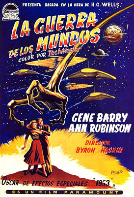 War Of The Worlds, Bottom, Left Art Print by Everett