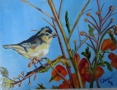 Painting - Warbling Verio by Charme Curtin